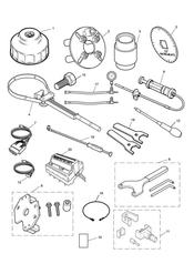 triumph motorcycle  AMERICA EFI triumph parts section Service Tools