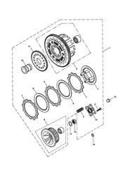 triumph motorcycle  BONNEVILLE & BONNEVILLE T100 (Carbs) triumph parts section Clutch  Bonneville T100 Eng No 211133gt amp Bonneville Eng No 282964F2  273655F4 gt