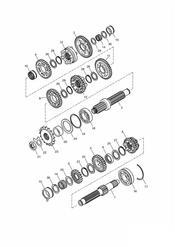 triumph motorcycle  BONNEVILLE & BONNEVILLE T100 (Carbs) triumph parts section Transmission ENG NO 179829   Bonneville