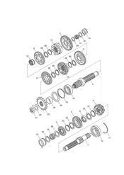 triumph motorcycle  BONNEVILLE & BONNEVILLE T100 (Carbs) triumph parts section Transmission ENG NO 179829   Bonneville T100
