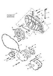 triumph motorcycle  BONNEVILLE & BONNEVILLE T100 (Carbs) triumph parts section Engine Covers  Bonneville T100