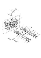 triumph motorcycle  BONNEVILLE & BONNEVILLE T100 (Carbs) triumph parts section Carburettors  Bonneville