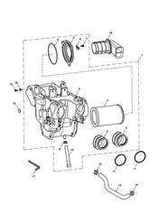 triumph motorcycle  BONNEVILLE & BONNEVILLE T100 (Carbs) triumph parts section Airbox