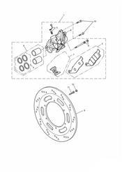 triumph motorcycle  BONNEVILLE & BONNEVILLE T100 (Carbs) triumph parts section Front Brake Caliper and Disc