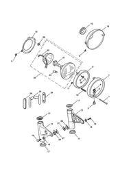 triumph motorcycle  BONNEVILLE & BONNEVILLE T100 (Carbs) triumph parts section Headlight Assembly