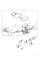 triumph motorcycle  BONNEVILLE & BONNEVILLE T100 (Carbs) triumph parts section Rear Light amp Rear Indicators