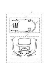 triumph motorcycle  BONNEVILLE & BONNEVILLE T100 (Carbs) triumph parts section Passenger Backrest High Kit