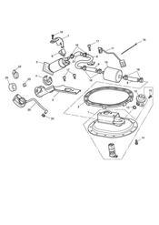 triumph motorcycle  Bonneville EFI upto 380776 triumph parts section Fuel Pump amp Fittings
