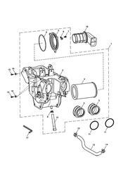 triumph motorcycle  Bonneville EFI upto 380776 triumph parts section Airbox