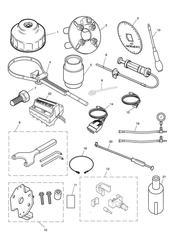 triumph motorcycle  Bonneville EFI upto 380776 triumph parts section Service Tools