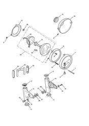 triumph motorcycle  Bonneville EFI upto 380776 triumph parts section Headlight Assembly
