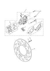 triumph motorcycle  Bonneville EFI upto 380776 triumph parts section Front Brake Caliper amp Discs
