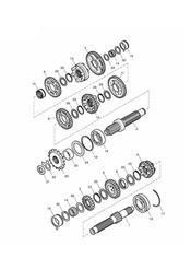 triumph motorcycle  Bonneville from VIN 380777 & SE triumph parts section Transmission
