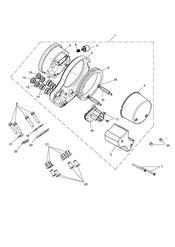 triumph motorcycle  Bonneville from VIN 380777 & SE triumph parts section Instruments  Bonneville 442347 gt See Tech News 118