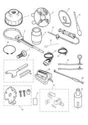 triumph motorcycle  Bonneville from VIN 380777 & SE triumph parts section Service Tools