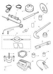 triumph motorcycle  Rocket III - Classic - Roadster triumph parts section Service Tools