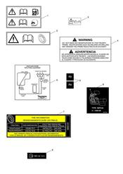 triumph motorcycle  Rocket III - Classic - Roadster triumph parts section Warning Labels