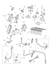 triumph motorcycle  Rocket III - Classic - Roadster triumph parts section Engine Management System