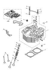 triumph motorcycle  SCRAMBLER triumph parts section Cylinder Head amp Valves