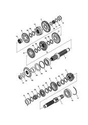 triumph motorcycle  SCRAMBLER triumph parts section Transmission