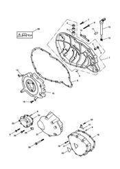 triumph motorcycle  SCRAMBLER triumph parts section Engine Covers