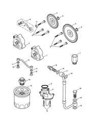 triumph motorcycle  SCRAMBLER triumph parts section Lubrication System
