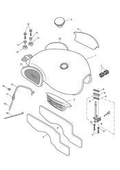 triumph motorcycle  SCRAMBLER triumph parts section Fuel Tank amp Fittings  317247 gt