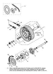 triumph motorcycle  SCRAMBLER triumph parts section Rear Wheel amp Final Drive
