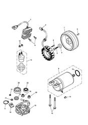 triumph motorcycle  SCRAMBLER triumph parts section Starter amp Alternator