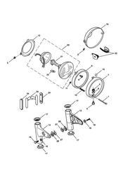 triumph motorcycle  SCRAMBLER triumph parts section Headlight Assembly