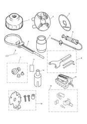 triumph motorcycle  SCRAMBLER triumph parts section Service Tools