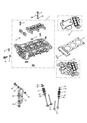 triumph motorcycle  Speed Triple R upto VIN: 735336 triumph parts section Cylinder Head amp Valves