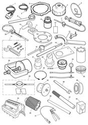 triumph motorcycle   triumph parts section Service Tools