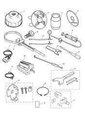 triumph motorcycle  SPEEDMASTER EFI triumph parts section Service Tools