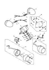 triumph motorcycle  SPEEDMASTER EFI triumph parts section Indicators gt 469049