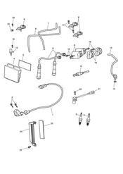 triumph motorcycle  SPEEDMASTER EFI triumph parts section Engine Management System
