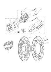 triumph motorcycle  SPEEDMASTER EFI triumph parts section Front Brake Caliper amp Discs