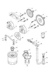 triumph motorcycle  SPEEDMASTER EFI triumph parts section Lubrication System