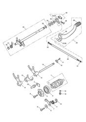 triumph motorcycle  SPEEDMASTER EFI triumph parts section Gear Selectors amp Pedal gt 469049