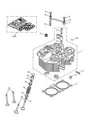 triumph motorcycle  SPEEDMASTER EFI triumph parts section Cylinder Head amp Valves