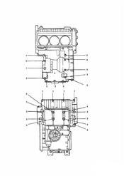 triumph motorcycle  SPRINT CARBS triumph parts section Crankcase Fixings Black Engines