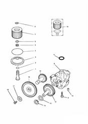 triumph motorcycle  SPRINT CARBS triumph parts section Lubrication System