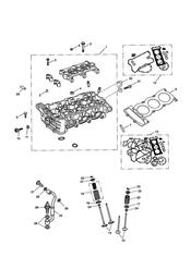 triumph motorcycle  SPRINT RS 139277 > triumph parts section Cylinder Head and Valves