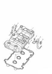 triumph motorcycle  SPRINT RS 139277 > triumph parts section Cam Cover