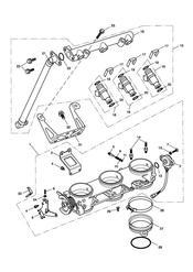 triumph motorcycle  SPRINT RS 139277 > triumph parts section ThrottlesInjectors and Fuel Rail 207555 gt