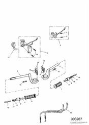 triumph motorcycle  SPRINT RS 139277 > triumph parts section Handlebars and Switches