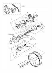 triumph motorcycle  SPRINT RS 139277 > triumph parts section Rear WheelFinal Drive Single sided swingarm 161318