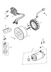 triumph motorcycle  SPRINT RS 139277 > triumph parts section AlternatorStarter