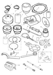 triumph motorcycle  SPRINT RS 139277 > triumph parts section Service Tools