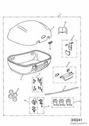 triumph motorcycle  SPRINT RS 139277 > triumph parts section Top Box 45 Litre